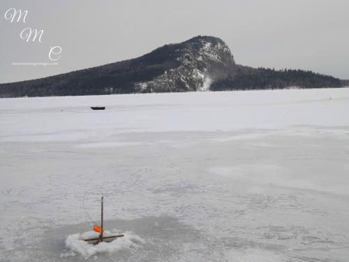 Mt. Kineo on Moosehead Lake in Rockwood, Maine