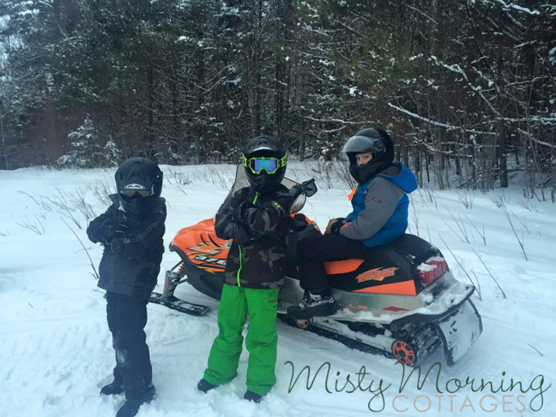 snowmobiling, rockwood, maine