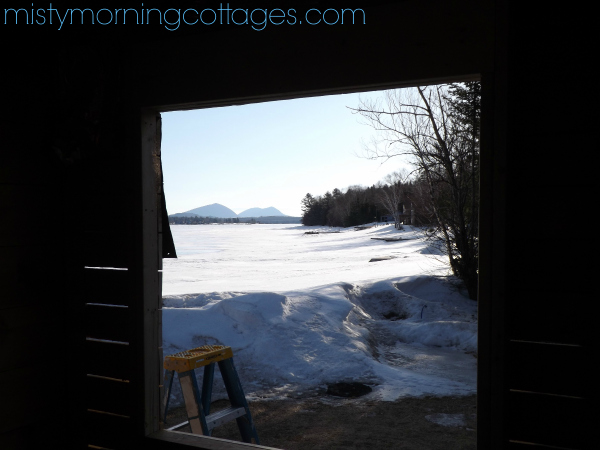 Renovations at Misty Morning Cottages - April 2015